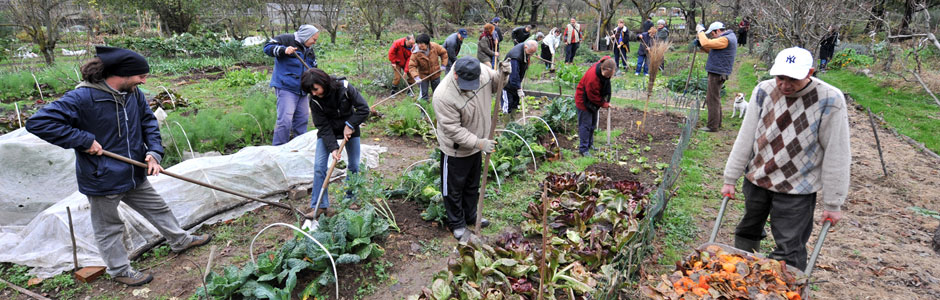 Dal 2003 i volontari del Giardino degli Aromi svolgono attività a diretto contatto con la natura per promuovere il benessere personale e favorire il reinserimento sociale di persone che attraversano momenti di difficoltà.