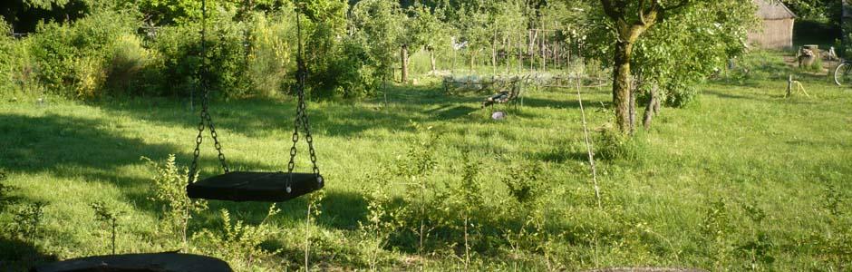 L'orto-giardino comunitario è uno spazio libero e accogliente