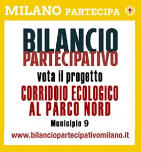 volantino Bilancio partecipativo Comune di Milano